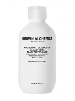 NOURISHING SHAMPOO - Damask Rose, Black Pepper & Sage